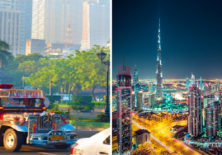 2 in 1: Kyiv to Dubai and the Philippines for just €249!