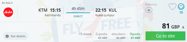 London To Ktm Cheap Flights