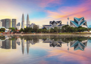 Cheap flights from Spanish cities to Kuala Lumpur, Malaysia from just €394!
