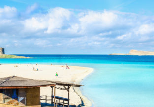 7-night Sardinia getaway incl. well rated hotel & cheap flights from Manchester for just £114!