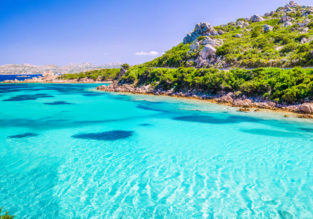 HOT! Peak summer flights from New York to splendid Sardinia, Italy from just $305!
