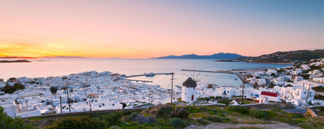 Cheap flights from Manchester to Mykonos from only £44!