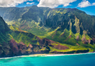 Cheap! Non-stop flights from California to Hawaii from only $257 with two checked bags included!