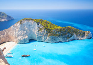Cheap non-stop flights from Oslo to the Greek island of Zakynthos for just €68!
