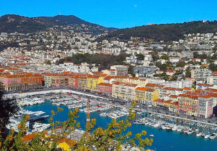 Long weekend on the French Riviera! 4 nights at well-rated hotel in Nice + cheap flights from London for just £87!