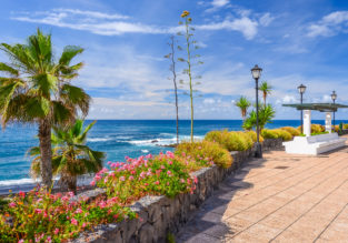 MAY: 7-night stay at well-rated hotel on Tenerife + cheap flights from Geneva for just €134!