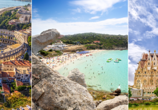 AUGUST: Scandinavia to many Mediterranean destinations from just €41!