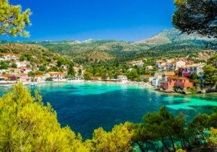 Easter week in Greece! 7-night stay in top-rated apartment in Kefalonia + flights from Milan for only €89!