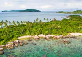 High-season non-stop flights from London to Phu Quoc island, Vietnam for only £331!