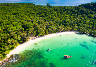 PEAK SEASON! Cheap full-service flights from Hong Kong to the exotic Island of Phu Quoc, Vietnam from only $193!