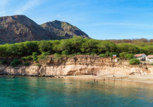 7 nights B&B stay at well rated hotel in Cape Verde + flights from Lisbon for €335!
