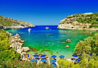All Inclusive stay at top rated beach resort in the Greek island of Rhodes for €21/ $24 per person!