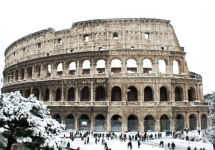 Stay at a very well-rated & central 4* hotel in Rome from only €48 / $53! Xmas or Valentine's for only €4 more!