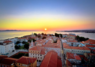 Spring week on the Croatian coast! 7-night stay at sea view apartment + cheap flights from Stockholm for just €78!