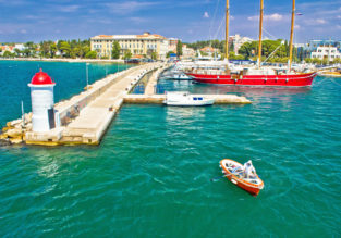 4-night stay at sea view apartment on the Croatian coast + flights from Berlin for only €94!