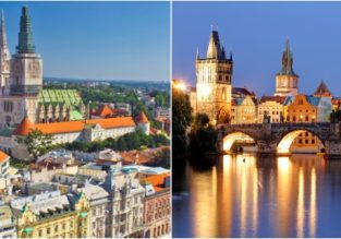 Prague and Zagreb in one trip from Seoul for only $571!