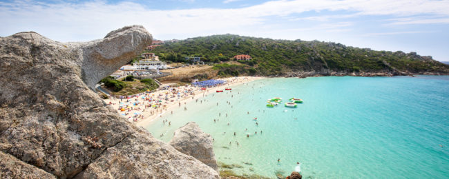 7-night stay in beachfront hotel in Sardinia + flights from London for just £139!