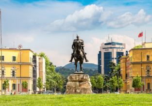 Cheap flights from Budapest or London to Tirana, Albania from only €19 / £20.98!