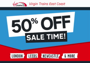 Virgin Trains Sale: Tickets across the UK from just £7.90 each way!