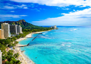 Non-stop from Seoul to Honolulu, Hawaii for only $452!