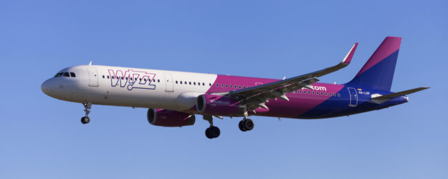 Wizz air: Four new routes from Wroclaw!