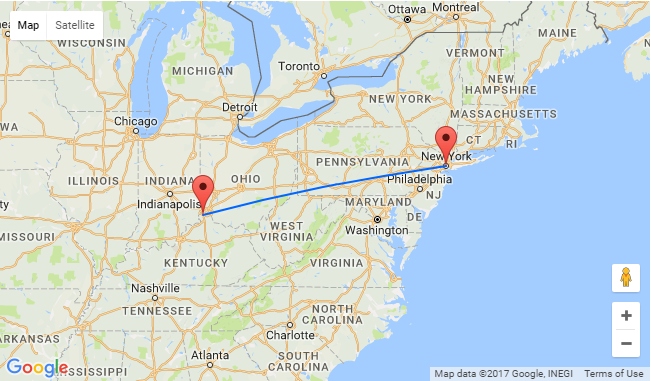 Cincinnati To New York And Vice Versa For Just 76