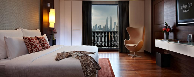 Peak Summer! Superior double room at 5* luxury hotel in Kuala Lumpur for €39/night! (€19.5/ $22 pp)!