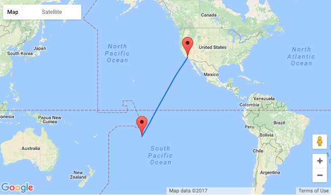XMAS! Non-stop flights from San Francisco to French Polynesia from only $591!