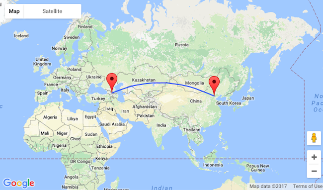 SUMMER! Direct flights from Beijing to Tbilisi, Georgia and vice ...