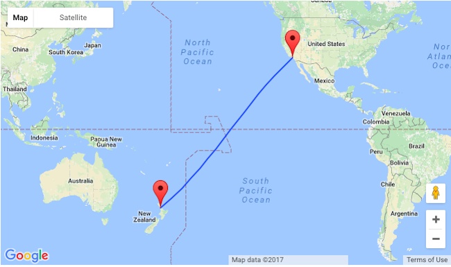 Error Fare Non Stop From Los Angeles To New Zealand For