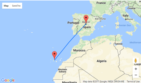 7 nights at well-rated hotel in Tenerife + flights from Madrid for ...