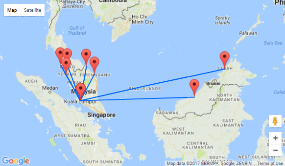 Malaysia Airlines sale: Many domestic routes (also to Borneo ...