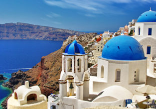 SPRING: Chicago and New York to Santorini and Rhodes Islands, Greece for only $533!