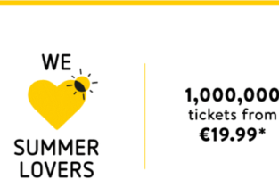 Vueling: Summer flights all over Europe from just €14.99 one way!