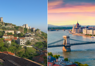 2 in 1: London to Albania and Hungary from just £52!