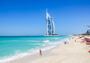 Direct flights from Kyiv to Dubai (& vice versa) from only €63.60 / 310 AED!