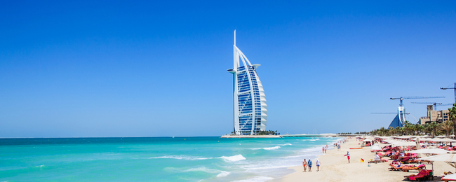 7-night stay in luxurious 5* hotel in Dubai + flights from Bucharest for €246!