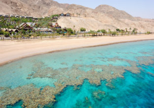 Cheap flights from Europe to Eilat, Israel from only €9!