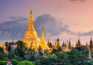 Emirates: Cheap flights from Skopje to Yangon, Myanmar for only €431!
