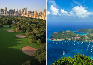 2 in 1: Vilnius to New York and Martinique or Guadeloupe from €409!