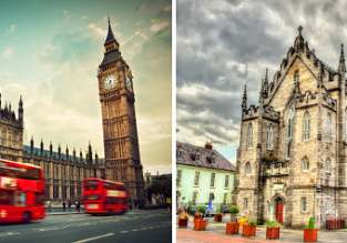 Cheap flights from Ireland to UK and vice-versa from only €9.98 / £9.98!