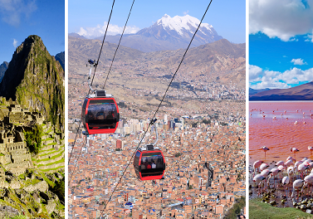 3 in 1: Colombia, Bolivia and Peru from Miami for only $403!