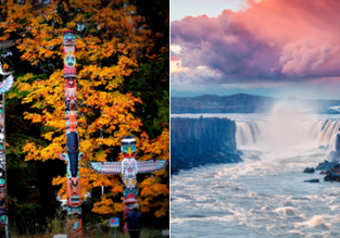 2 in 1: Glasgow to Iceland & Vancouver for only £303!