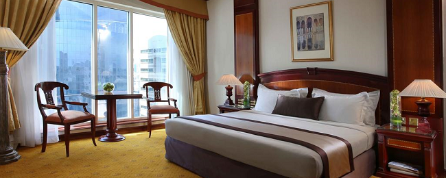 Luxurious 5* Carlton Palace Hotel Dubai for only €39/night! (€19.5/ $22 pp)