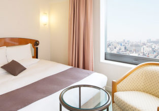 Double room at excellent 4* luxury hotel in Tokyo for only €52 (€26/ $30 per person)