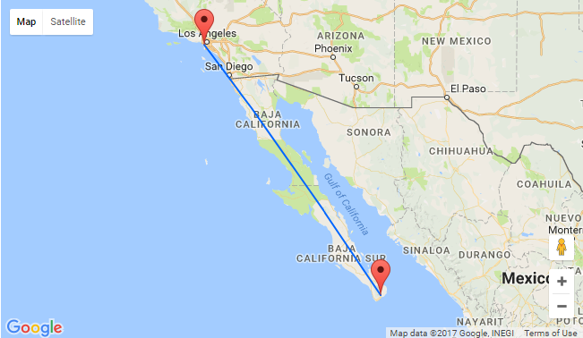 Non Stop Flights From Los Angeles To San Jose Del Cabo For