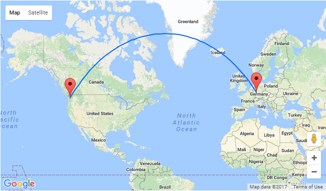 Seattle To Frankfurt Germany For Only 406