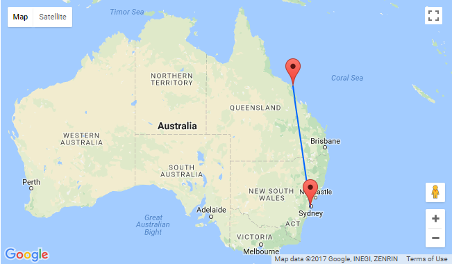 Hamilton Island Australia Map.Non Stop From Sydney To Beautiful Hamilton Island For Only Au 176