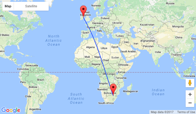 CHEAP Fly From Dublin To Johannesburg South Africa From Only - Johannesburg germany map