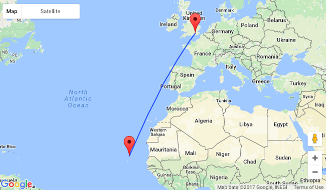 Late summer: Non-stop from London to Cape Verde for £181!